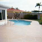 pool deck-flagstone