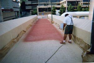walkway-1-brick-stencil-spraying