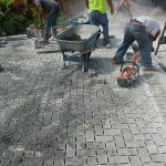 Permeable Paver Installation